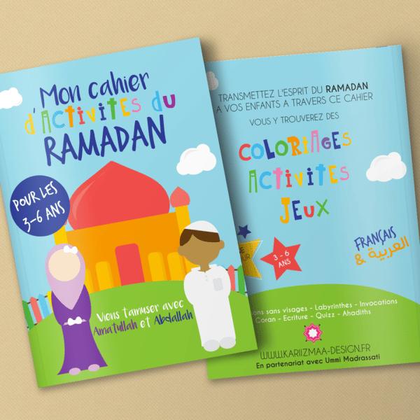 Mon cahier d'activités du Ramadan (3-6 ans)