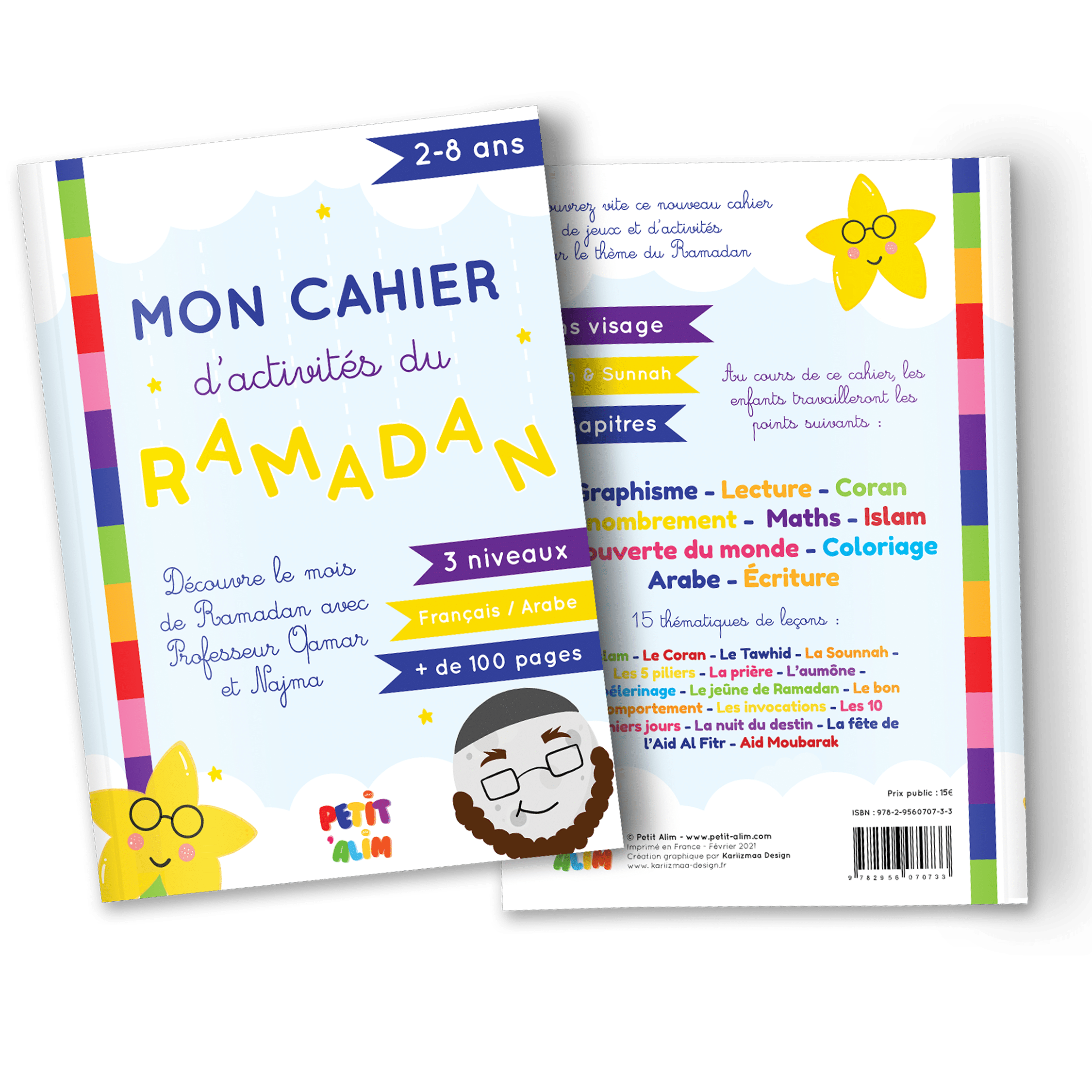 Mon cahier d'activités du Ramadan : 2-8 ans